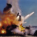 Train explosion
